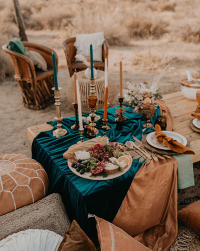 Bright & Boho | Intimate Elopement | Joshua Tree, California